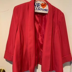 Red Kasper business jacket/blazer.